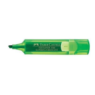 Μαρκαδόρος Υπογράμμισης 1546 Faber Castell πράσινος