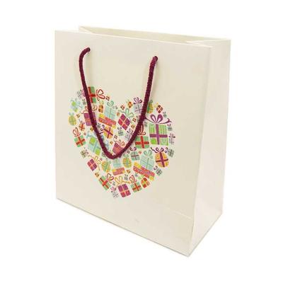 Χάρτινη Σακούλα Καρδιά Με Δώρα 24Υx23Πx10 medium