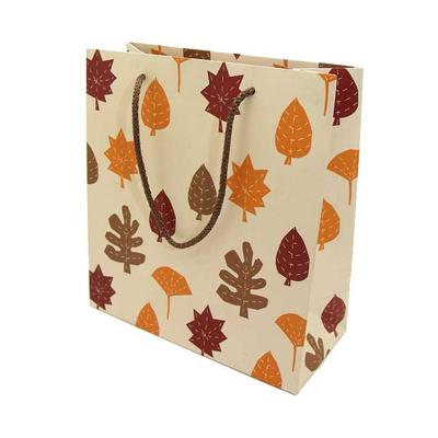 Χάρτινη Σακούλα Φθινοπωρινά Φύλλα 24x23x10
