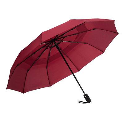 Ομπρέλα Σπαστή Αυτόματη Ø55εκ κοκκινη