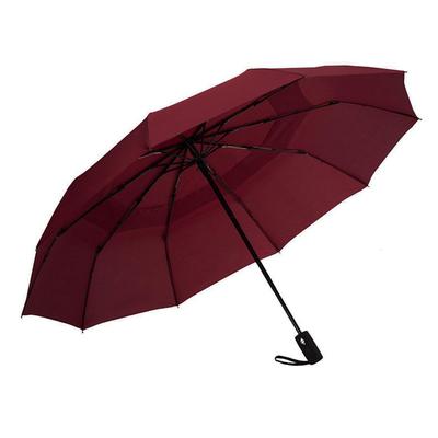 Ομπρέλα Σπαστή Αυτόματη Ø55εκ μπορντω