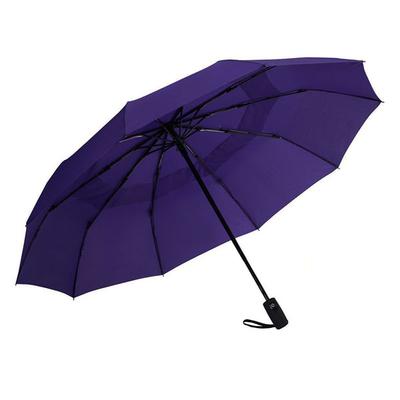 Ομπρέλα Σπαστή Αυτόματη Ø55εκ μωβ