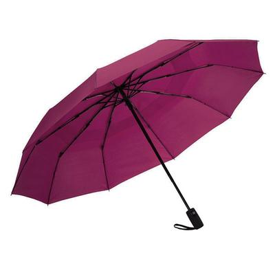 Ομπρέλα Σπαστή Αυτόματη Ø55εκ φουξ