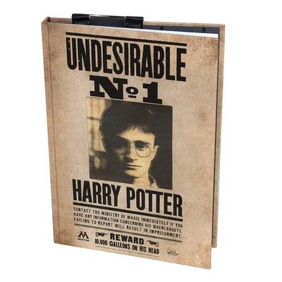 Σημειωματάριο 3D 200φυλ (Harry Potter)