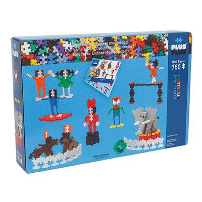Plus Plus Τουβλάκια σε Κουτί 760τεμ Τσίρκο