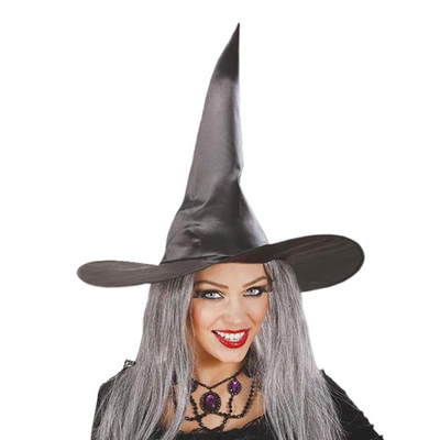Καπέλο Μάγισσας Μαύρο 3τεμ