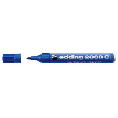 Edding 2000C Μαρκαδόρος Ανεξίτηλος Μεταλλικός μπλε