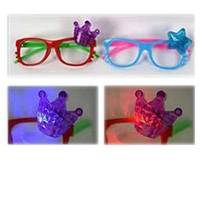 Γυαλιά που φωτίζουν. Διατίθεται σε συσκευασία 2 τεμαχίων.