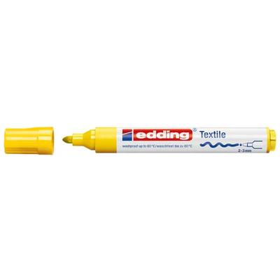 Edding 4500 Μαρκαδόρος Υφάσματος κιτρινο