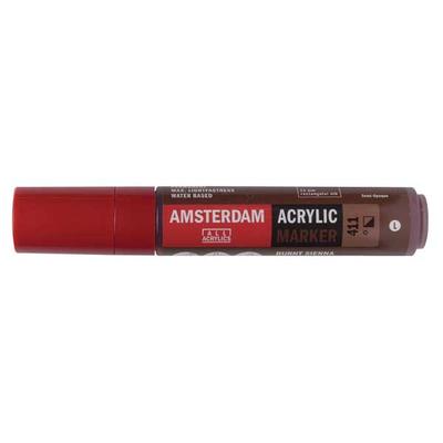 Talens Amsterdam Ακρυλικός Μαρκαδόρος 15mm BURNT SIENNA