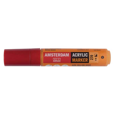 Talens Amsterdam Ακρυλικός Μαρκαδόρος 15mm EZO YELLOW DEEP