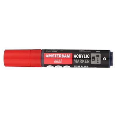 Talens Amsterdam Ακρυλικός Μαρκαδόρος 15mm OXIDE BLACK