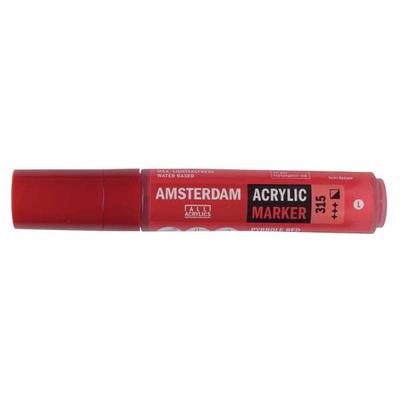 Talens Amsterdam Ακρυλικός Μαρκαδόρος 15mm PYRROLE RED