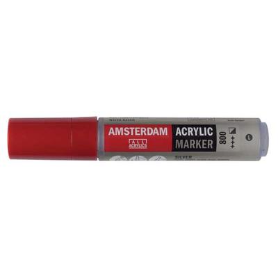 Talens Amsterdam Ακρυλικός Μαρκαδόρος 15mm SILVER