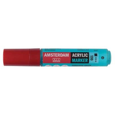 Talens Amsterdam Ακρυλικός Μαρκαδόρος 15mm TURQUOISE GREEN