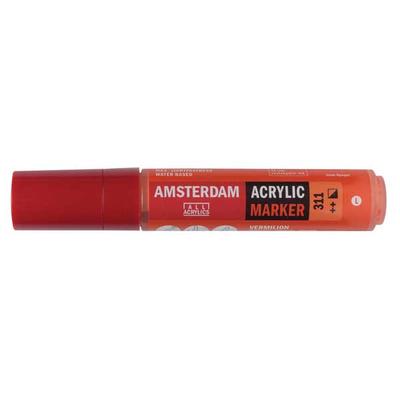 Talens Amsterdam Ακρυλικός Μαρκαδόρος 15mm VERMILION