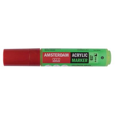 Talens Amsterdam Ακρυλικός Μαρκαδόρος 15mm YELLOWISH GREEN