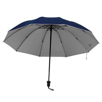 Ομπρέλα ΑΣΗΜΙ-ΜΠΛΕ Ø105εκ