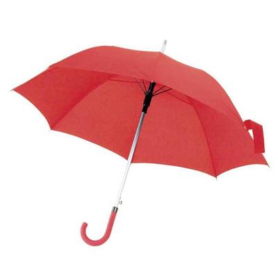 Ομπρέλα Αυτόματη Κόκκινη Ø105εκ