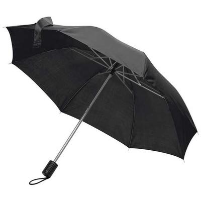 Ομπρέλα Πτυσσόμενη Ø85εκ ΜΑΥΡΟ