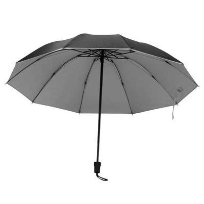 Ομπρέλα ΑΣΗΜΙ-ΜΑΥΡΟ Ø105εκ