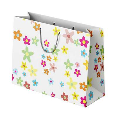 Χάρτινη Σακούλα Λουλούδια