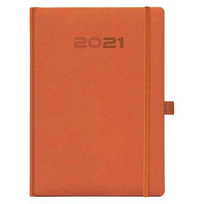 Ημερολόγιο Ημερήσιο 17x24 Trek Plus 2021 +Penloop ΠΟΡΤΟΚΑΛΙ