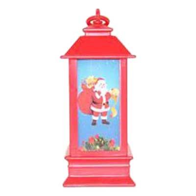 Χριστουγεννιάτικα Διασκοσμητικά Φαναράκια Φωτιζόμενα 3τεμ.