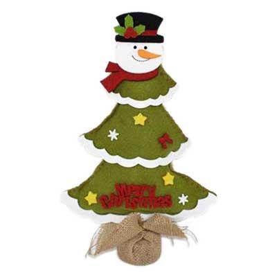 Χριστουγεννιάτικο Δέντρο Διακοσμητικό από Τσόχα