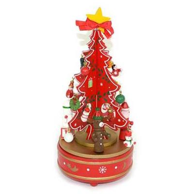 Χριστουγεννιάτικο Μουσικό Δέντρο Ξύλινο