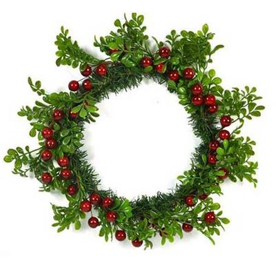 Χριστουγεννιάτικο Στεφάνι με Γκι Ø40εκ.