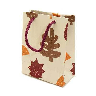Χάρτινη Σακούλα Φθινοπωρινά Φύλλα 13x10x5