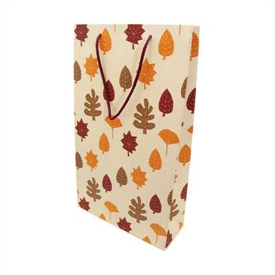 Χάρτινη Σακούλα Φθινοπωρινά Φύλλα 41x24,5x9