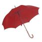 Ομπρέλα Αυτόματη με Ξύλινη Λαβή Ø105εκ ΚΟΚΚΙΝΟ
